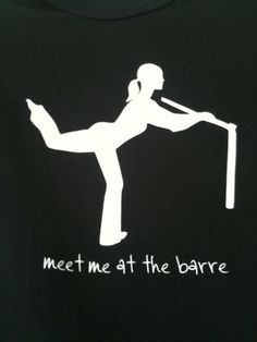 Meet me at the barre tee