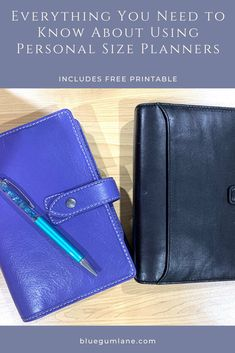 Filofax Malden, Planner Inserts, Planners, Free Printables, Organization, How To Plan, Wallet, Leather, Blue