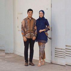 Kebaya Hijab, Kebaya Muslim, Batik Couple, Chiffon, Hipster, Couples, Wedding, Model, Dresses