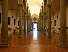 Convent dels dominics de Sant Marco - Florence On the first floor, the library built by Michelozzo for Cosimo de' Medici Library Girl, Italy Magazine, Italy Architecture, Fra Angelico, Beautiful Library, Italian Renaissance, Florence Italy, Tuscany, Art History