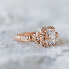 This award-winning design from our Lori Collection will take your breath away for a lifetime. What is your favorite metal color? #kirkkara #forevercaptivating . . K195E7X5LR from Lori collection Rose Gold Promise Ring, Rose Gold Diamond Ring, Gold Diamond Wedding Band, Diamond Jewelry, Black Rings, White Gold Rings, Diamond Cluster Engagement Ring, Engagement Rings, Ruby Wedding Rings