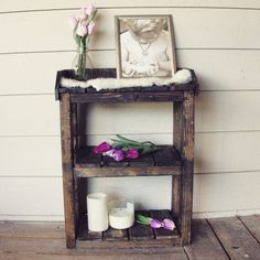 A personal favorite from my Etsy shop https://www.etsy.com/listing/231086376/farmhouse-rustic-wood-bathroom-shelves