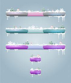 Transform Your Website's Menu Bars Into a Winter Wonderland in Adobe Illustrator