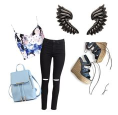 """""""outfit idea"""" by msraver on Polyvore featuring Keepsake the Label, H&M, Roberto Cavalli and Stuart Weitzman"""