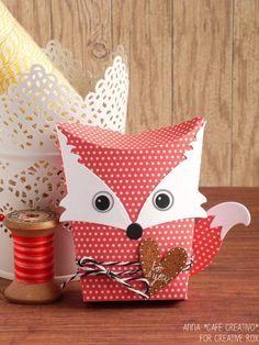Sizzix Thinlits Die Set 6PK - Box, Owl & Fox