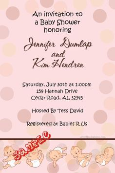 Diaper Madness Baby Shower Invitations  -  Get these invitations RIGHT NOW. Design yourself online, download and print IMMEDIATELY! Or choose my printing services. No software download is required. Free to try!