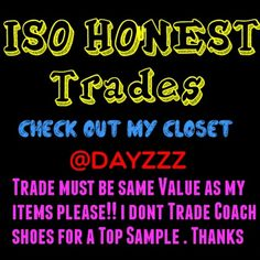 Honest Trader?? Take a look at my closet. Good Feedback. Only Honest traders. Don't try to scam me please. Cause I will HUNT YOU DOWN!!!WITCH. Nike Accessories
