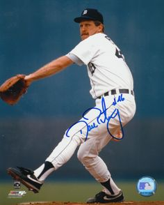 "Dan Petry - Detroit Tigers - 8"" X 10"" MLB Baseball Pictures & Autographs - MLB Autograph"