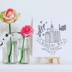 Glass Vase, Place Cards, Place Card Holders, Illustrations, Home Decor, Decoration Home, Room Decor, Illustration, Home Interior Design