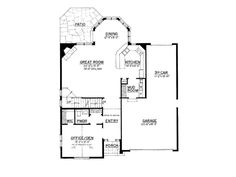 """EPlans Country House Plan – A """"Greene"""" Craftsman for Charles & Henry–2218 Square Feet and 3 Bedrooms from ePlans – House Plan Code HWEPL7590..."""