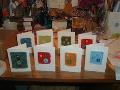 Finally finished some knitted cards for the Fish Gallery. Hand Made Greeting Cards, Making Greeting Cards, Fish Gallery, Fundraising, Cardmaking, Knit Crochet, Christmas Cards, Projects To Try, Gift Wrapping
