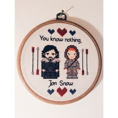 Game of Thrones cross stitch complete!