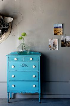 People who don't like painted furniture - I give you this.