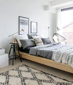 inspiracje w moim mieszkaniu: Łóżko, najważniejszy mebel w sypialni / The bed mo...