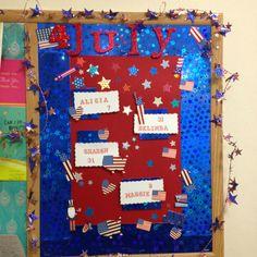 July Birthday board!