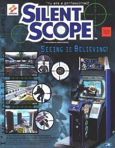 Name: Silent Scope / Manufacturer: Konami / Year: 1999