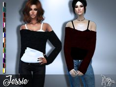 New mesh by me HQ Texture (2048x4096) All Lods Custom Thumbnail Teen to Elder                                  ♦ HERE  ♦ (Simfilesh...