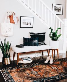 Incredbly my scandinavian home: Relaxed, Boho-style in Orange County, California - Best Decoration ideas for the home Decor, Scandinavian Home, House Styles, Sweet Home, Interior Design, Home Decor, House Interior, Room Decor, Apartment Decor