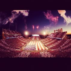 OU Football Stadium...there is nothing better!!!