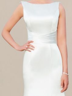 Search for our new arrival collection of simple mermaid wedding dresses for less. Perfect Wedding Dress, Wedding Dress Styles, One Shoulder Wedding Dress, Wedding Gowns, Lace Wedding, Bridal Gowns, Rustic Wedding, Satin Mermaid Wedding Dress, Mermaid Dresses