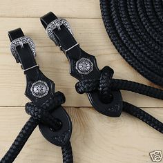 Yacht Rope Mecate Reins w Quick Change Buckle Slobber Straps 22 Ft | eBay