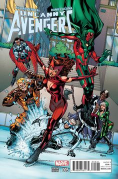 The Uncanny Avengers Comic Issue 5 Limited Variant Modern Age First Print 2015 The Avengers, Uncanny Avengers, Avengers Characters, Avengers Comics, The Uncanny, Marvel Comic Books, Comic Book Characters, Comic Character, Comic Books Art