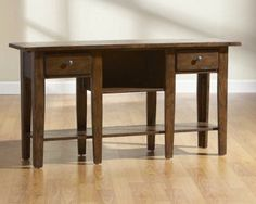 Sofa Table Manufacturer: Broyhill, Attic Heirlooms Rustic Oak Collection MODEL# 3399-09