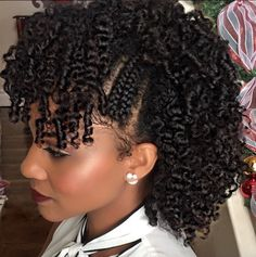 Curly faux hawk @KienyaBooker - http://community.blackhairinformation.com/hairstyle-gallery/natural-hairstyles/curly-faux-hawk-kienyabooker/
