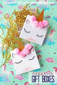 Simple Jewelry Gift Boxes Turned Into Magical Unicorns With Ease! #unicorn #unicorns #giftidea