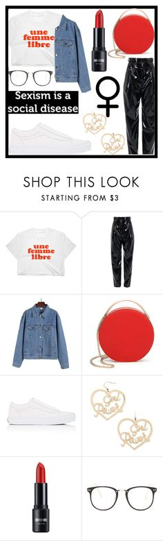 """""""Loud and Proud: Girl Pride"""" by bxbyyniya ❤ liked on Polyvore featuring TIBI, 3.1 Phillip Lim, Vans, Forever 21, Nasty Gal, womensHistoryMonth, pressforprogress and GirlPride"""
