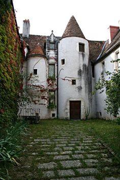 A 15th century manor house or mansion, hôtel particulier Duperthuis, Argenton, France.