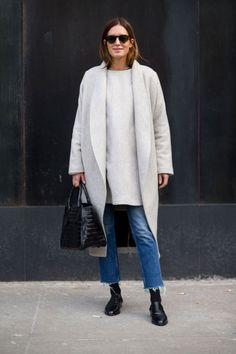 So Cool It Hurts: New York Fashion Week Street Style - HarpersBAZAAR.com