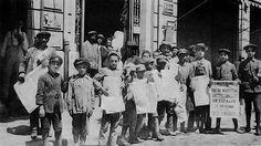 Παιδιά εφημεριδοπώλες The Turk, Thessaloniki, Macedonia, Greece, The Past, Memories, City, Children, Beautiful