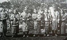 1902년에 찍은 아이누족의 모습