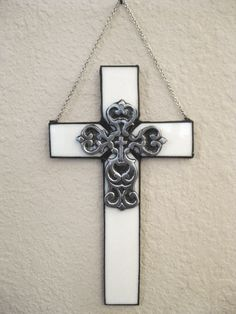 Wall Cross Stained Glass Cross Decorative Wall