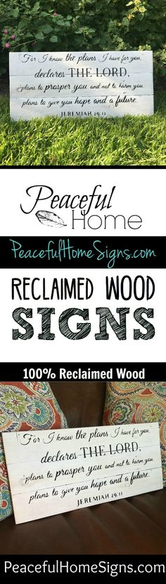For I know the plans sign | Wood sign with bible verse | Christian decor |Jeremiah 29:11 sign| Scripture sign | Wall Décor for Home | Farmhouse style signs | Bible Verse Signs | Handmade wood signs| Bible Wall decor | Most popular bible verses | Famous scripture sign | High Quality Handmade Signs | For I know the plans I have for you declares the Lord, plans to prosper you and not to harm you, plans to give you hope and a future. –Jeremiah 29:11