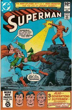Superman 355- Jim Starlin & Curt Swan