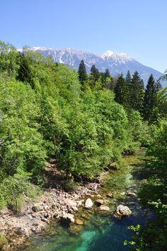 Vintgar Gorge na Eslovênia - Volta da trilha
