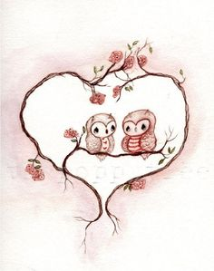 'owl love u forever & ever...' by Poppy Tree