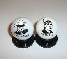 MODERN LOGO MARBLES- *THE LONE RANGER & TONTO*