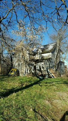 Abandoned House At Chandler Sd Buildings Places Haunted Houses