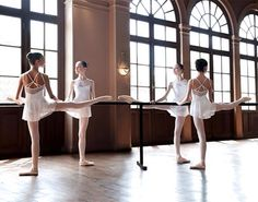 You never really think about it but it's very difficult to bend your toes with pointe shoes on