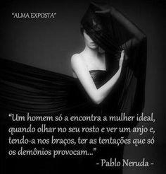"""""""Alma Exposta"""": Poeta Pablo Neruda (Foto Poema)"""