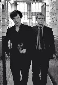 Sherlock - Cumberbatch & Freeman - I'm having a hard time comprehending these two darling people...