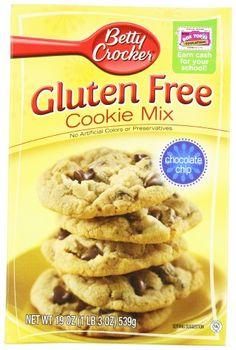 Betty Crocker Gluten Free Chocolate Chip Cookie Mix - 19 OZ Box - http://bestchocolateshop.com/betty-crocker-gluten-free-chocolate-chip-cookie-mix-19-oz-box/