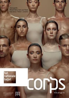 Corps, Het national ballet | #poster #design