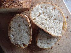 Nem vagyok mesterszakács: Magvakkal szórt gyökérkenyerek (pain paillasse) természetes kovásszal. Természetesen. Izu, Ciabatta, Bruschetta, Baguette, Bread, Food, Brot, Essen, Baking