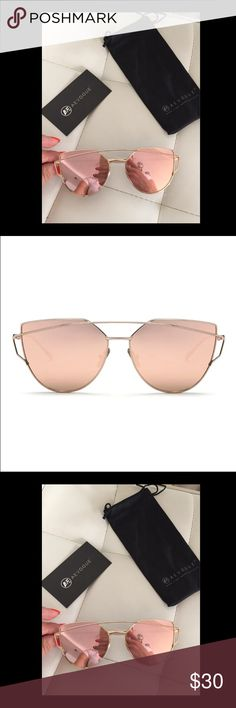 Rose Gold mirror sunnies  So beautiful!! Brand new. Rose Gold mirrored sunnies. So well made and quality. These are on trend and perfect for summer. Not Zara, just listed for exposure. Zara Accessories Sunglasses