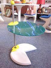 Postmodern side table era Memphis 80s - modernist design 149.00...