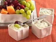 Strawberry Marshmallow Fruit Dip recipe from Betty Crocker